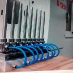 Distribuidor de pino de sopro